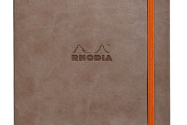 Bulletjournal Rhodia A5 120vel dots taupe
