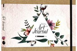 Art Journal A4 bruin