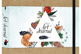 Art Journal A5 bruin