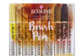 Ecoline Brushpen set 10 Huid