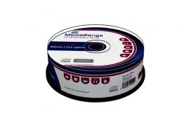 CD-R MediaRange 700MB|80min 52x speed, Cake a 25 stuks