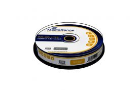 DVD+RW MediaRange 4.7GB|rewritable, Cake a 10 stuks