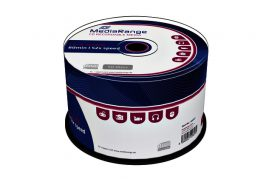 CD-R MediaRange 700MB|80min 52x speed, Cake 50 stuks