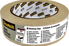 Afplaktape Scotch Basic 36mmx50m beige