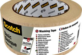 Afplaktape Scotch Basic 48mmx50m beige