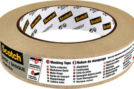Afplaktape Scotch Basic 24mmx50m beige