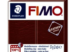 Klei Fimo leather-effect 57 gr roest