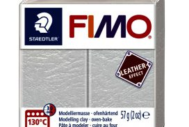Klei Klei Fimo leather-effect 57 g ivoor