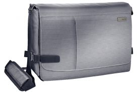 "Laptoptas Leitz Complete 15.6"" Smart Messenger Grijs"