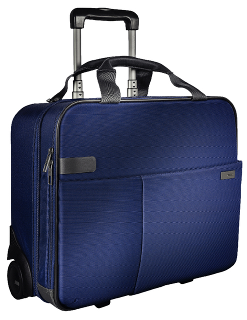 Carry-On Trolley Leitz Complete Smart Blauw