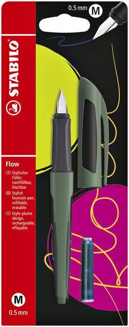 Vulpen STABILO Flow sporty forest