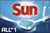 Vaatwastabletten Sun All-in-one 27 stuks