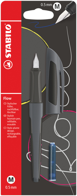 Vulpen STABILO Flow Active antraciet