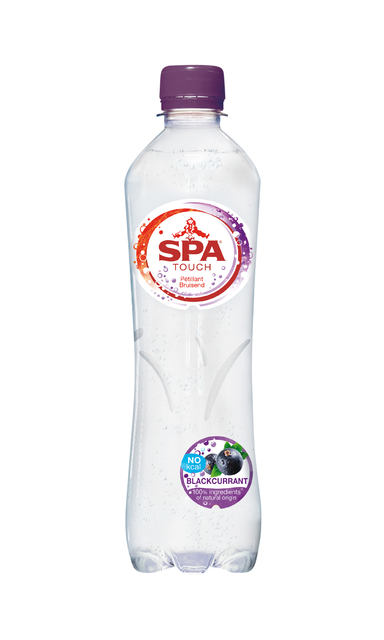 Water Spa Touch sparkling blackcurrant petfles 0,5L