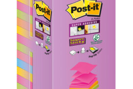 Memoblok 3M Post-it R330 76x76mm 16 color Z-notes