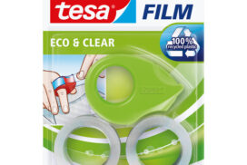 Plakband Tesa 58241 eco&clear 19mmx10m mini dispenser