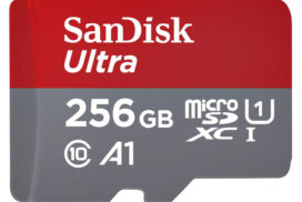 Geheugenkaart Sandisk MicroSDXC Ultra Android 256GB 120MB/s