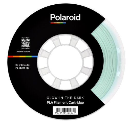 3D Filament Polaroid PLA 1kg Glow-in-the-dark stuk per rol
