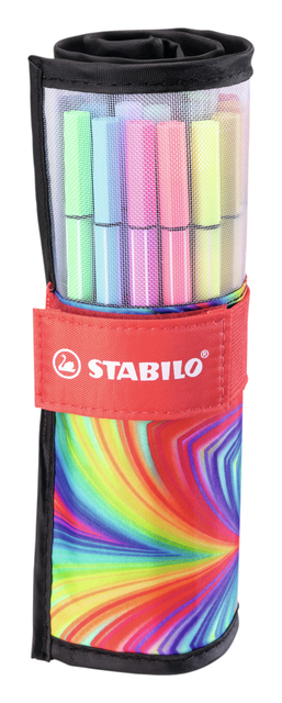 Viltstift Stabilo Pen 68 Arty edition ass 25 stuk per set