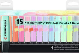 Markeerstift Stabilo Boss Original 7015-02-5 desk pastel ass