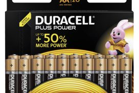 Batterij Duracell Plus Power 20xAA alkaline