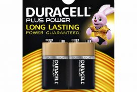 Batterij Duracell Plus Power 2x9Volt MN1604