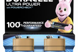Batterij Duracell Ultra Power 2x9Volt MX1604
