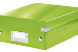 Sorteerbox Leitz WOW Click & Store 220x100x282mm groen
