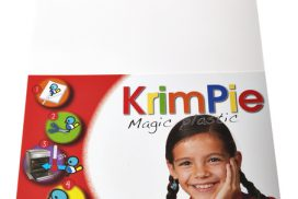 Krimpievel Collall Magic Plastic wit set à 4 vel