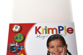 Krimpievel Collall Magic Plastic transparant set à 4 vel