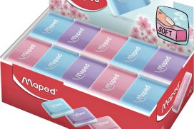 Gum Maped Essentials soft pastel display à 40 stuks assorti