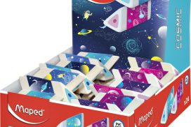 Gum Maped Cosmic 3-kantig display à 24 stuks assorti