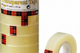 Plakband Scotch 700 Super Hold 19mmx25.4m transparant