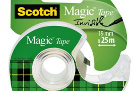 Onzichtbaar plakband Scotch Magic 810 19mmx25m +afroller