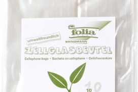 Cellofaanzak Folia transparant 115x190mm