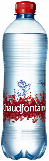 Water Chaudfontaine sparkling petfles 0.50l 50 cl per tray