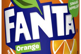 Frisdrank Fanta Orange blikje 0.33l 33 cl per tray