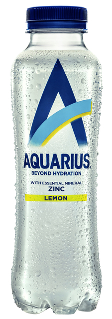 Frisdrank Aquarius Hydration Lemon fles 0.40l 40 cl per tray