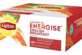 Thee Lipton Energise English Breakfast 100stuks