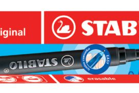 Rollerpenvulling STABILO Easy Original rood 0.5mm