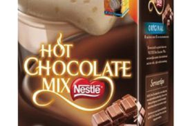 Chocomel Nestle hot chocolade mix 50 stuk per pak