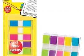 Indextabs 3M Post-it 6835CBP smal assorti 3+2 gratis