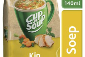 Cup-a-soup machinezak kip met 40 porties