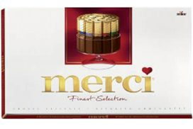 Chocolade Merci Finest selection 400gr doos per doos