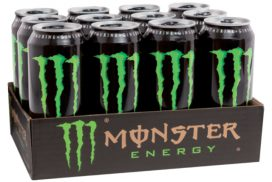 Energy drank Monster blikje 0.50l 50 cl per tray
