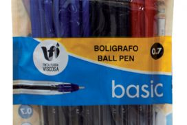 Balpen Plus Office stick assorti blister medium