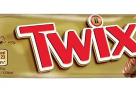 Twix repen single 50gr 25 stuks