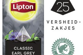 Thee Lipton Exclusive Earl Grey 25 piramidezakjes 25 stuk