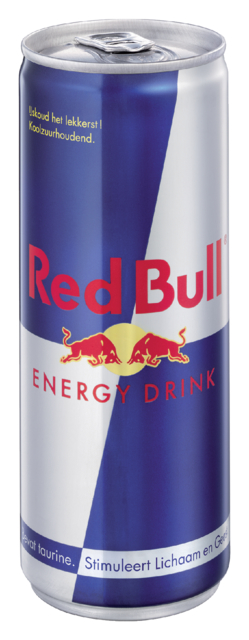 Energy drank red bull blikje 0.25l 25 cl per tray