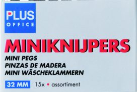 Miniknijper Plus Office 34mm assorti